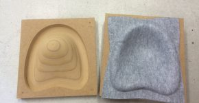 MDF mould for thermoformed Ecopanel
